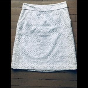 White Banana Republic Skirt